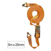 SANGLE DE FIXATION AVEC TENSEUR  5m x 25mm
